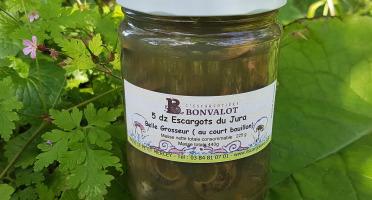 L'escargotière BONVALOT - 5 Douzaines d'Escargots du Jura Belle-Grosseur au Court-bouillon