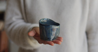 Atelier Eva Dejeanty - Bol ou Tasse en Céramique (grès) modèle Cellule Taille XS