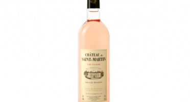 Château de Saint-Martin & Liquoristerie de Provence - AOP Côtes de Provence, Cru classé de Provence, Cuvée Grande Réserve Rosé