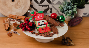 Le Petit Atelier - Étui De 2 Sucettes Casse-noisette Au Chocolat Au Lait Bio