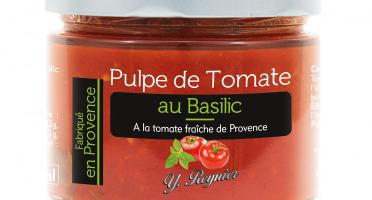 Conserves Guintrand - Pulpe De Tomate De Provence Au Basilic Yr - Bocal 314ml