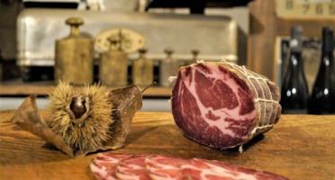 """Charcuterie Mannei - Coppa """"Maison"""" de Porc Classique en Morceau"""