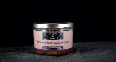 Les Viandes du Forez - Terrine de Lapin aux Pruneaux en Verrine