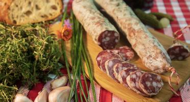 Maison Geret - Saucisse sèche 100% pur porc - 240 g