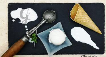 Glace du Geisshoff - Fleur de Lait Crème Glacée Fermière au Lait de Chèvre 750 ml