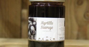La Ferme du Logis - Confiture de Myrtilles Sauvages - Confiture Extra