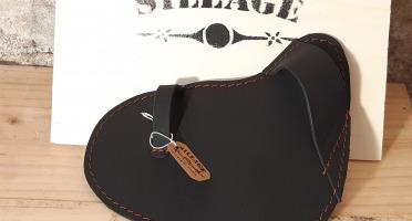 Sillage Maroquinerie - Gant Huîtrier Noir - Pour Droitier
