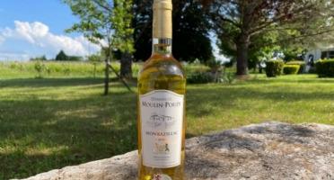 Vignobles Fabien Castaing - AOC Monbazillac Domaine de Moulin-Pouzy Tradition 2018 - 75cl