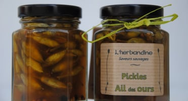 L'herbandine - 2 Pickles d'Ail des Ours - 80 g
