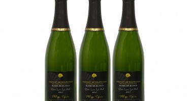 Domaine TUPINIER Philippe - 3 Bouteilles De Crémant De Bourgogne Blanc De Blancs