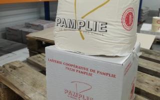 Laiterie de Pamplie - Motte Cru Grains de Sel 5Kg