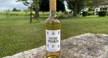Vignobles Fabien Castaing - Jus de Raisin Blanc 100% Naturel Douceur d'Automne - 6x75cl
