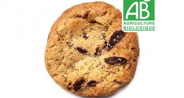 Pierre & Tim Cookies - Cookie Bio Chocolat Noir Fleur De Sel