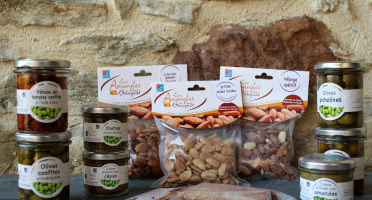 Les amandes et olives du Mont Bouquet - Panier Apéro Olives Et Amandes