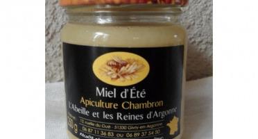 Apiculture Chambron L'Abeille et les reines d'Argonne - Miel D'été 500g