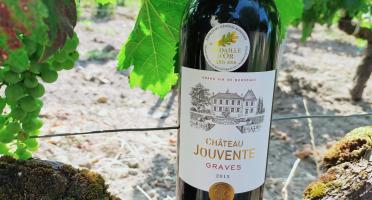 Château Jouvente - Château Jouvente AOC Graves Rouge 2015 - 3 Bouteilles