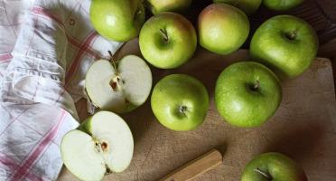 Le Verger de Crigne - Pommes Granny Smith Bio (moyen Calibre) - 10kg