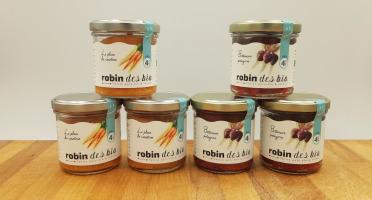 Robin des Bio - Petit pot bébé Bio et Locaux - 3x Carotte - 3x Betterave (dès 4 mois)