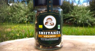Les champignons du Loc'h - Shiitakés Bio séchés - 25g