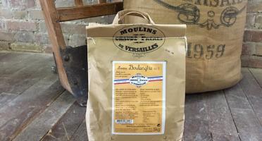 Moulins de Versailles - Farine De Blé Boulangère T65 - 5kg