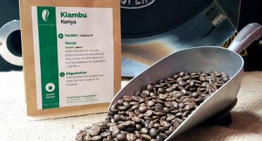 Brûlerie de Melun-Maison Anbassa - Café Kiambu-kenya - Mouture Moyenne