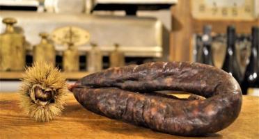 Charcuterie Mannei - Ficatellu à Cuire Fermier de Porc Noir Nustrale - La Pièce