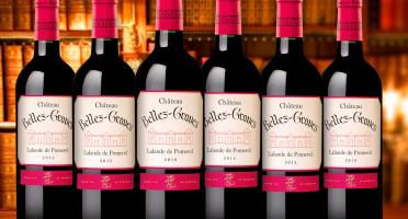 Château Belles-Graves - Coffret Verticale Château Belles-Graves 2014/2015/2016 AOC Lalande de Pomerol 6x75cl