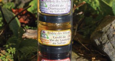 Safran des Volcans - Coffret Confits de Vin au Safran 3x40g