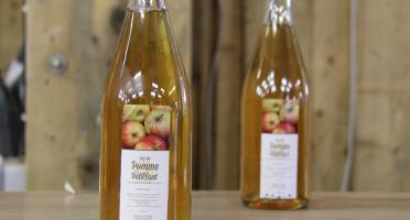 La Ferme du Logis - Jus de Pomme Pétillant, aux Pommes de la Ferme