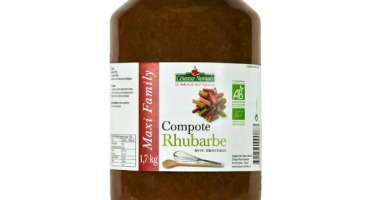 Les Côteaux Nantais - Compote Rhubarbe 1,7kg