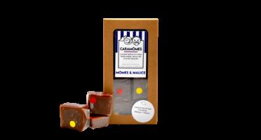 Mômes & Malice - Les Caramômes Fruités - Pavés Tendres Au Caramel (3 Saveurs)
