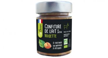 Fromagerie Seigneuret - Confiture De Lait De Chèvre Noisette Bio- 180g