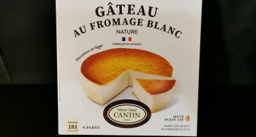 La Fromagerie Marie-Anne Cantin - GATEAU AU FROMAGE BLANC