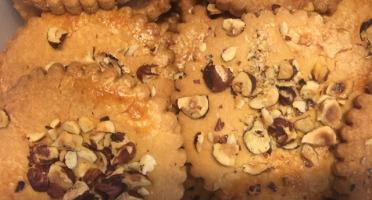 Colette Natural Food - 3 Sablés Pur Beurre aux Éclats de Noisettes Torréfiées