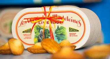 Les Véritables Madeleines de Liverdun - Boîte En Bois - 12 Véritables Madeleines De Liverdun
