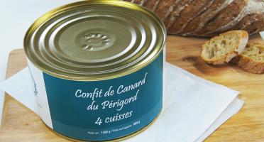 A la Truffe du Périgord - Confit De Canard Du Périgord 4 Cuisses