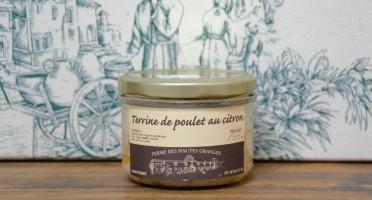 Ferme des Hautes Granges - Terrine de poulet au citron - 190 g