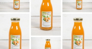 """La Ferme de l'Ayguemarse - Nectar d'abricot 25cl x 6 (variété """"Polonais"""" ou Orangé de Provence)"""