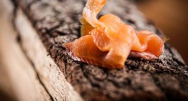 Fumaison Occitane - Saumon Bio Tranché (220 Gr, Mini 4 Tranches)