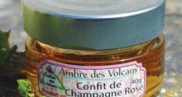 Safran des Volcans - Confit de Champagne Rosé au Safran Bio 40g