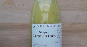 Le Jardin des Gallines - Soupe Courgette Et Curry
