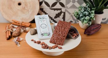 Le Petit Atelier - Tablette De Chocolat Au Lait Bio Au Riz Soufflé