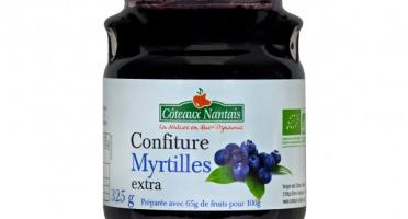 Les Côteaux Nantais - Confiture Myrtilles Extra 325g
