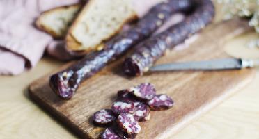 Ferme Caussanel - Saucisse Sèche Pur Canard 220g