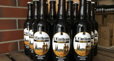 """L'Eurélienne - Brasserie de Chandres - Offre Spéciale ''Saint Patrick"""" : 11 Bières Stout 75cl + 1 Offerte"""