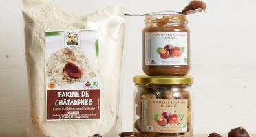 GAEC Roux - Coffret Châtaignes d'Ardèche - 3 produits