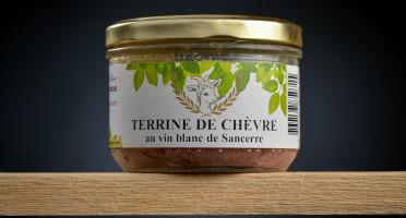 Le Petit Perche - Terrine de Chèvre au Vin de Sancerre