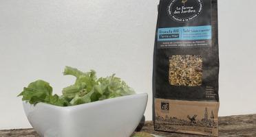 Ferme des Jardins - Granola Bio Salé Terre Et Mer : Noisette, Graines Et Laitue De Mer De Roscoff