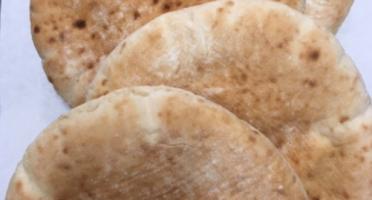 Colette Natural Food - Pains Pita Charnue Et Moelleuse (vendu Par 4)