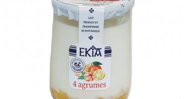 BASTIDARRA - Yaourt 4 Agrumes - 8 Pots